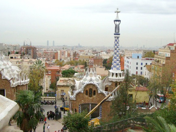 Top of Parc Guell