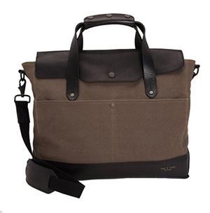 sleek mens work bag