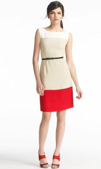 color blocking summer work fashion