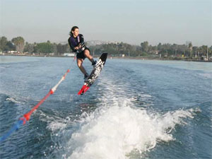 wakeboarding summer adventure