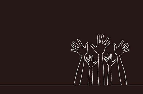 helping hands, volunteerism