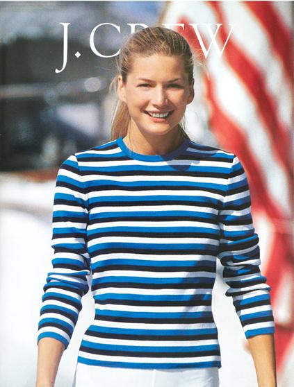 jcrew catalog 1990