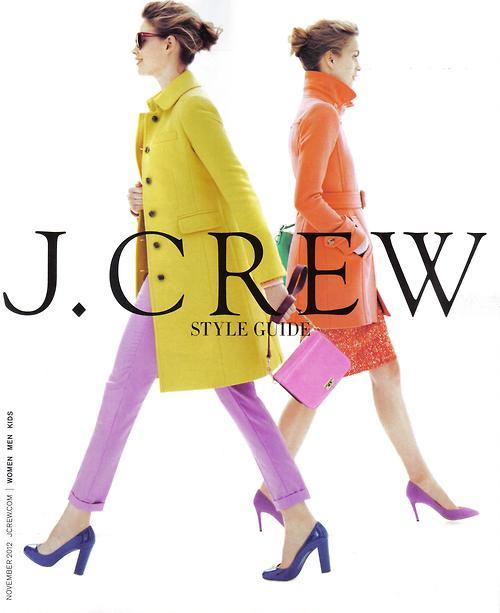 jcrew catalog 2012