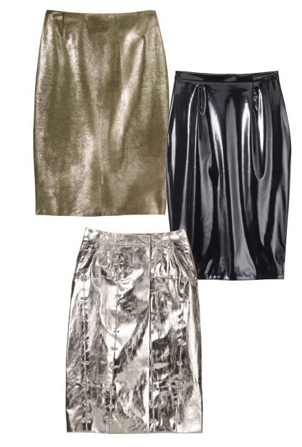 leather and metal fashion
