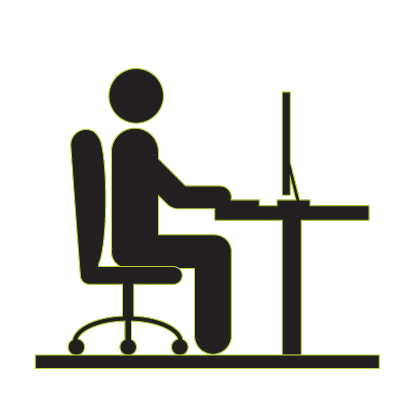 sit up straight and don't slouch