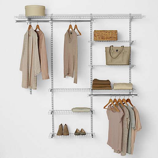 Rubbermaid's deluxe closet organizer kit