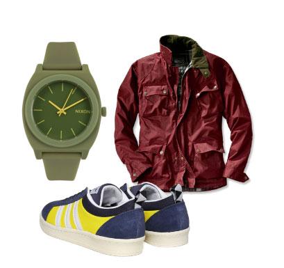spring wardrobe essentials in green
