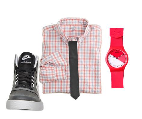 men's spring fashion in pink