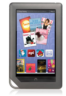nook: reading material for your carry on