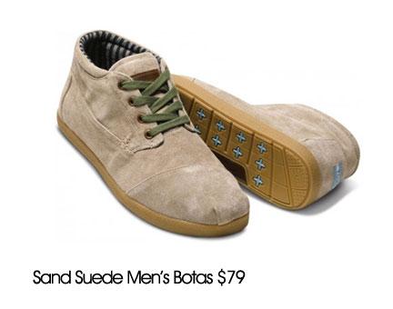toms suede men shoes
