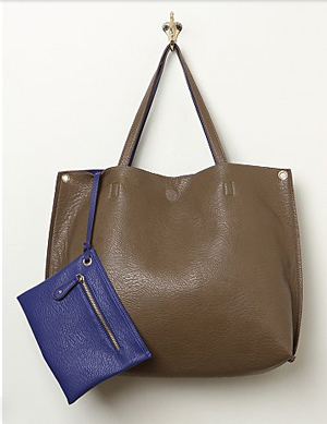 vegan leather work bag