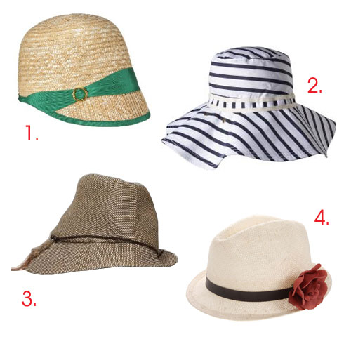 Summer Hats for Him & Her | For the young urban professional